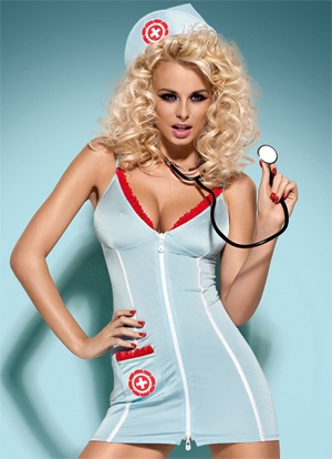 Minidress de explosiva doctora
