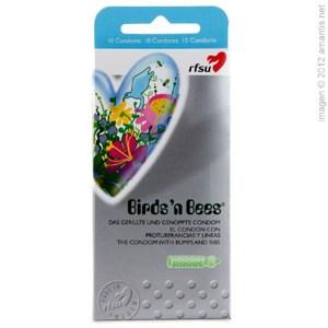 Atención al pajarito, 10 condones texturizados