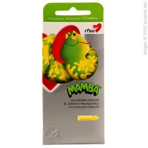 Mamba, el condón más ajustable