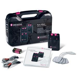 PURE-VIVES de Mystim®, Set de electro-estimulación analógico