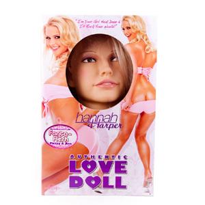 Hannah Harper muñeca inflable de lujo