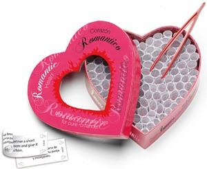 Corazón romántico, 100 pruebas románticas
