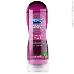 Durex Play, Aceite de masaje sensual y lubricante íntimo