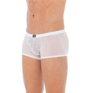 Boxer semitransparente blanco inmaculado