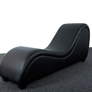 SESSE 360 BLACK, Chaise Lounge sexual de amantis