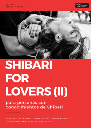 Taller Shibari For Lovers avanzado [29/07/2018]
