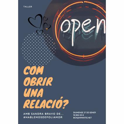 ¿Cómo abrir una relación? | Barcelona