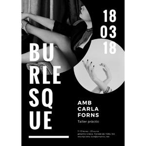 Taller de Burlesque. [BCN 18/03/18]