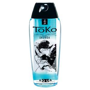 Toko Aqua. Lubricante de base agua 165ml de Shunga