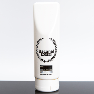 Bacanal FORTE, lubricante anal concentrado con aloe