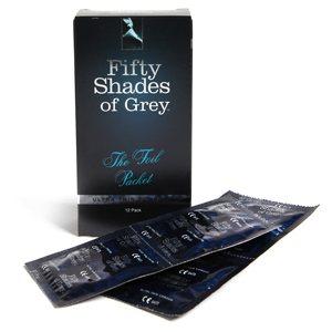 12 condones edición especial 50 Sombras de Grey