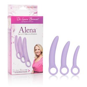 ALENA, kit de 3 dilatadores sexuales