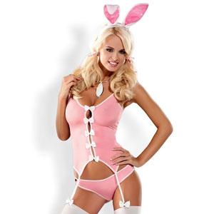 Disfraz de conejita. ¿Dulce o traviesa?
