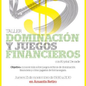 TALLER Dominación y juegos financieros | Madrid