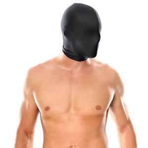 Máscara sin orificios, transpirable