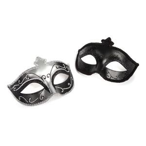 2 máscaras decoradas edición especial 50 Sombras de Grey