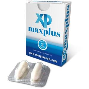 MAXplus 2 cápsulas potenciadoras de la erección