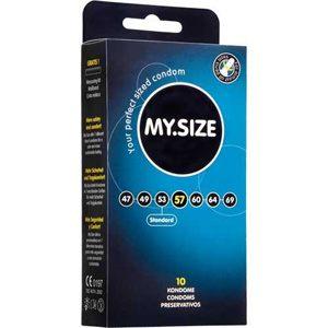 MY.SIZE, 10 condones alemanes en 7 tallas diferentes