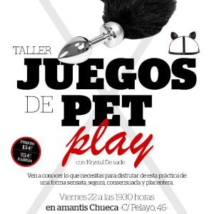 TALLER Juegos de Pet Play | Madrid