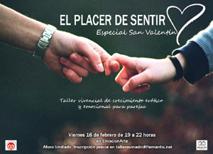 El placer de sentir, especial San Valentín [MAD 16-02-18]