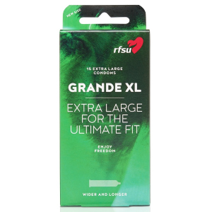 RFSU GRANDE XL, condón más largo y ancho
