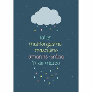 Taller Multiorgasmo masculino   Barcelona