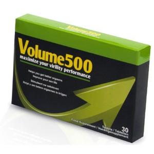 Volume 500, cápsulas para aumentar la eyaculación masculina