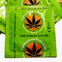 Cannadom, seis condones sabor �Marihuana!