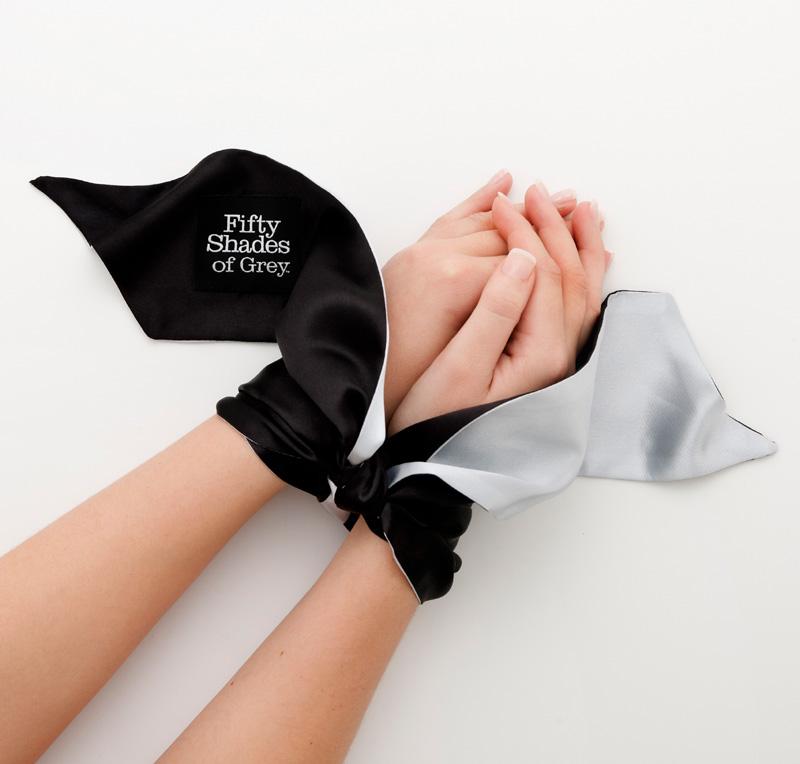 Lazo para muñecas o tobillos, edición 50 Sombras de Grey