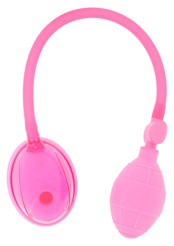 Succionador-estimulador de vulva en silicona