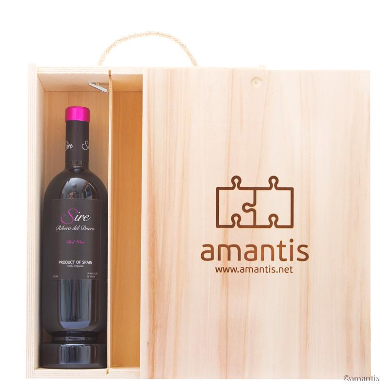 amantis deSire #4, pack libre con vino