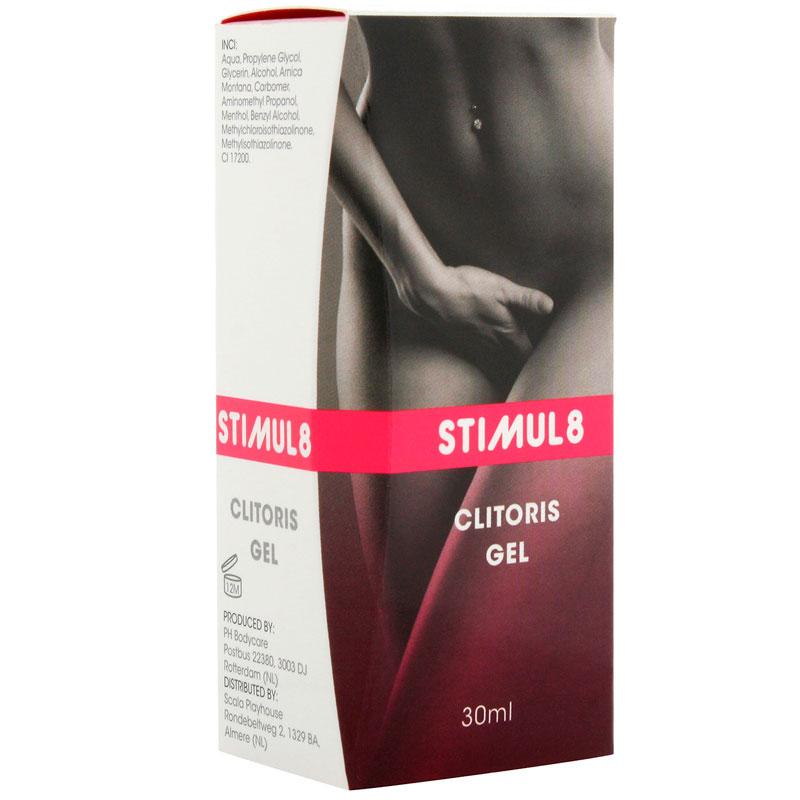 Gel estimulante para el clítoris Stimul8