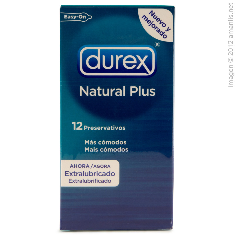 Durex Natural Plus 12 o 24 uds.