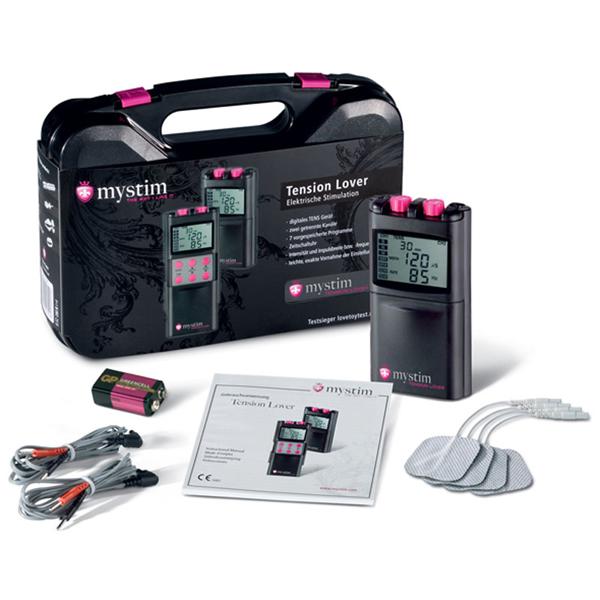 TENSION-LOVER de Mystim®, Set de electro-estimulación digital