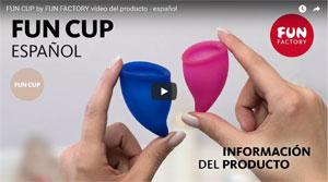 Fun Cup la copa menstrual de Fun Factory
