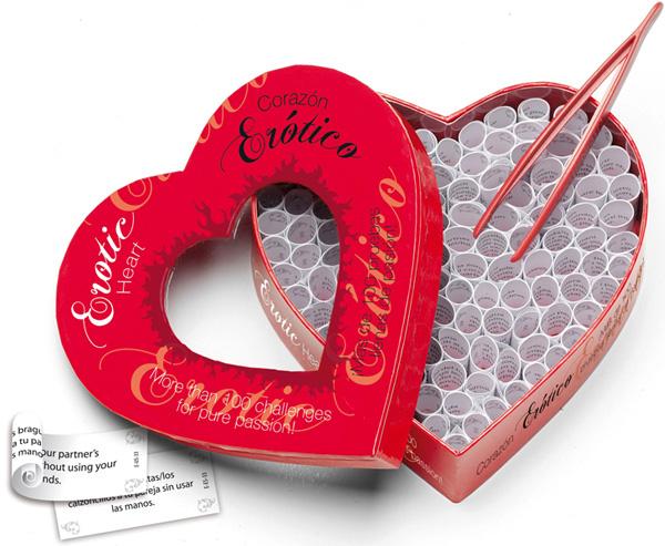 Corazón erótico, 100 pruebas apasionadas