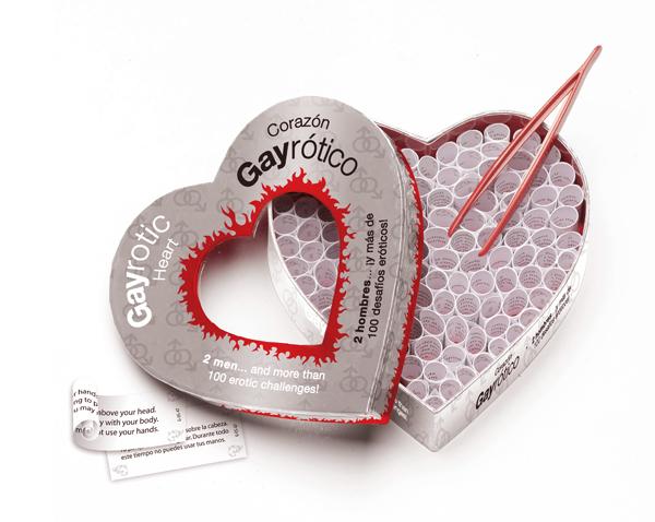 Corazón Gayrótico, 2 hombres y 100 desafíos eróticos