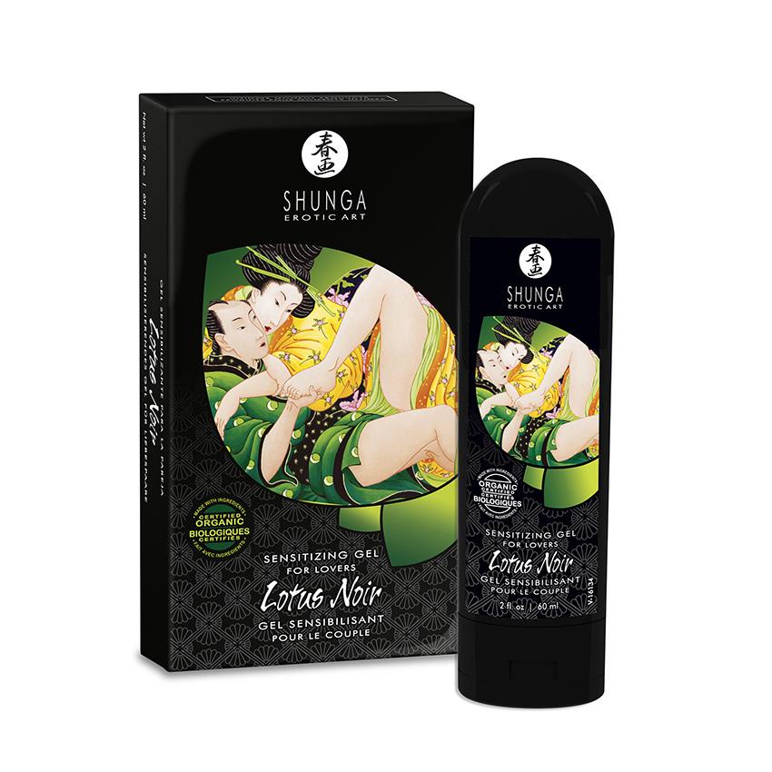 Lotus Noir, Gel sensibilizante ecológico para parejas de Shunga