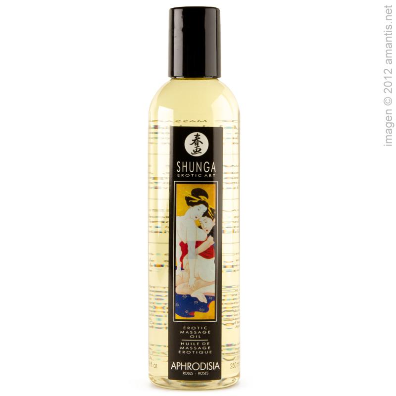 Shunga aceites de masaje afrodisíacos, 250 ml