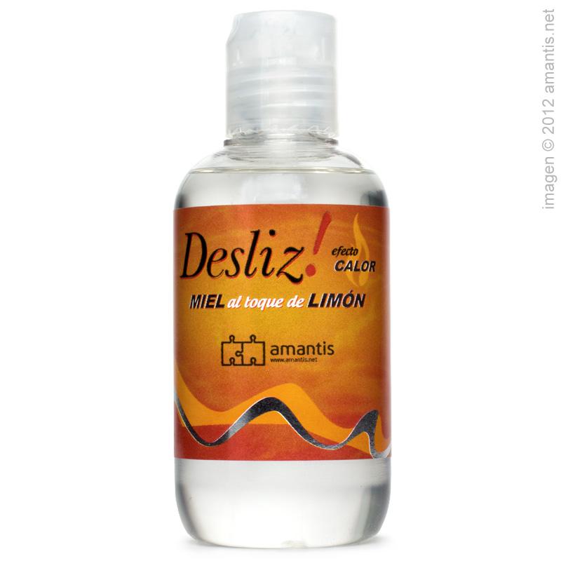 Desliz! CALOR, irresistible lubricante al toque de miel y limón