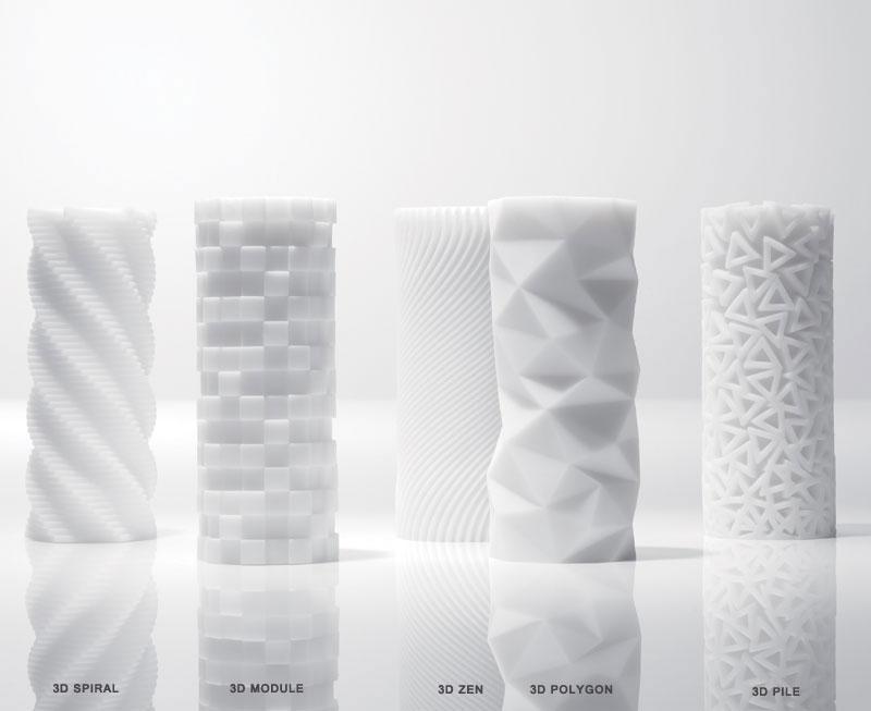 TENGA 3D, esculturas de silicona para el éxtasis masculino