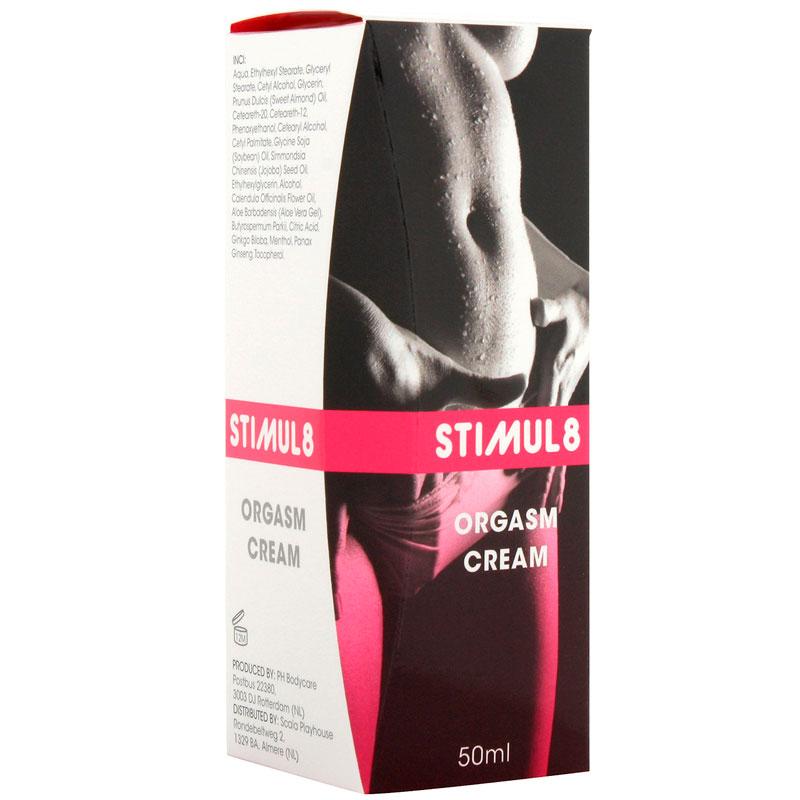 Crema potenciadora de orgasmos femeninos Stimul8
