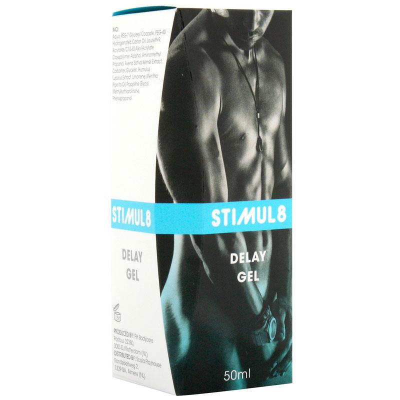 Gel retardante de la eyaculación Stimul8
