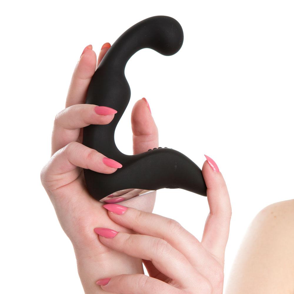 ADÍN, estimulador prostático para él, semiflexible y de silicona