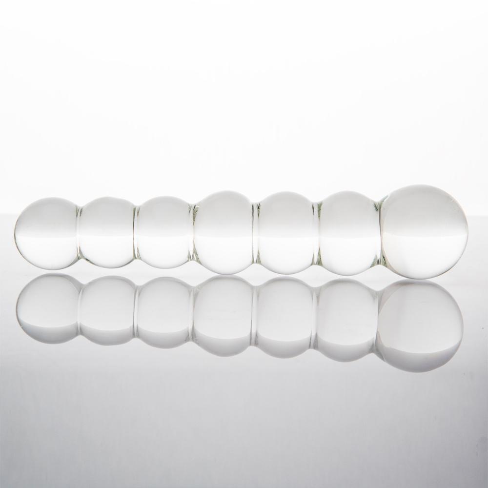 Dildo de burbujas de vidrio, versatilidad hecha placer