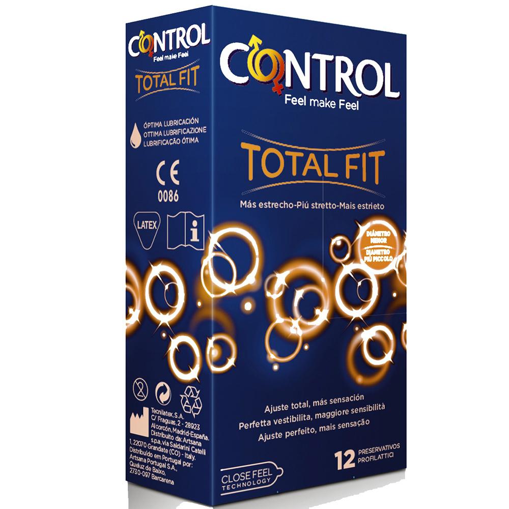 Control Total Fit 12 unds, más estrechos, más ajustados