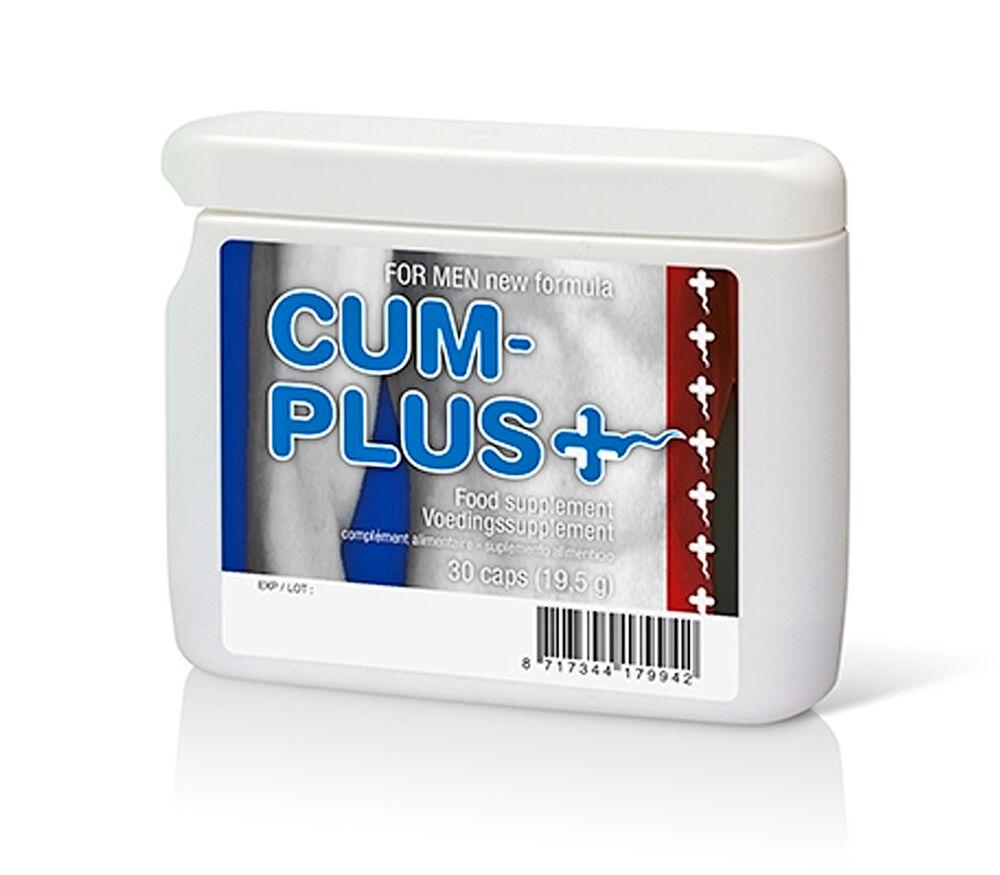 CUM PLUS 30 CAPS. Tratamiento de mejora del esperma