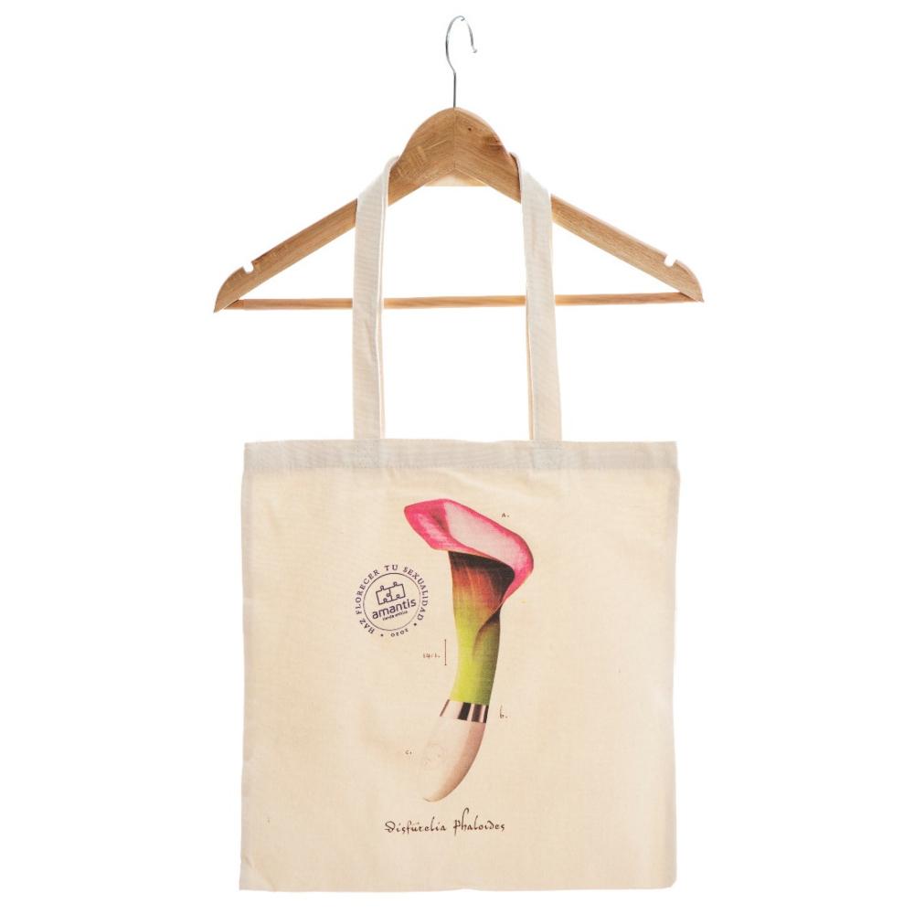Bolsa algodón DISFUTELIA PHALOIDES, haz florecer tu sexualidad