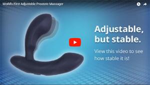 EDGE, vibrador prostático ajustable con mando a distancia