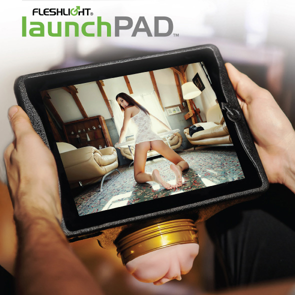Launchpad, soporte para tu iPad y tu Fleshlight